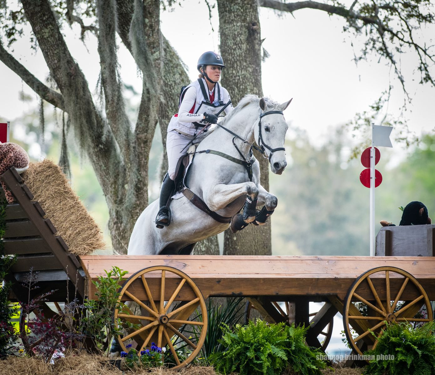 Selena O'Hanlon & Foxwood High at Red Hills International Horse Trials