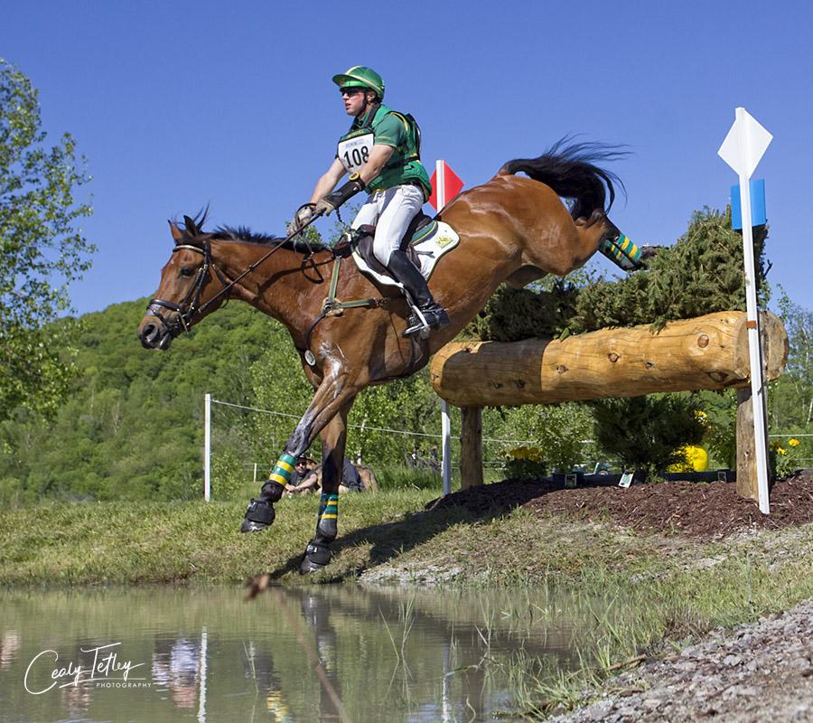 Karl Slezak & Fernhill Wishes Bromont Three Day Event