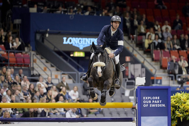 Steve Guerdat and Alamo at the 2019 FEI World Cup Jumping Finals