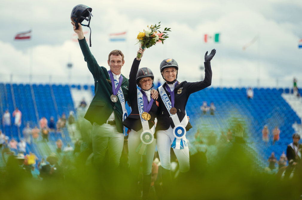 Tryon 2018 World Equestrian Games Eventing Medalists