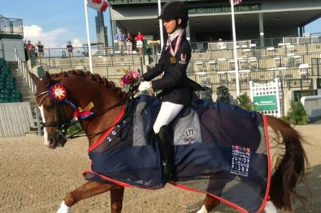 Canada Scores Gold Silver Bronze In Dressage At North